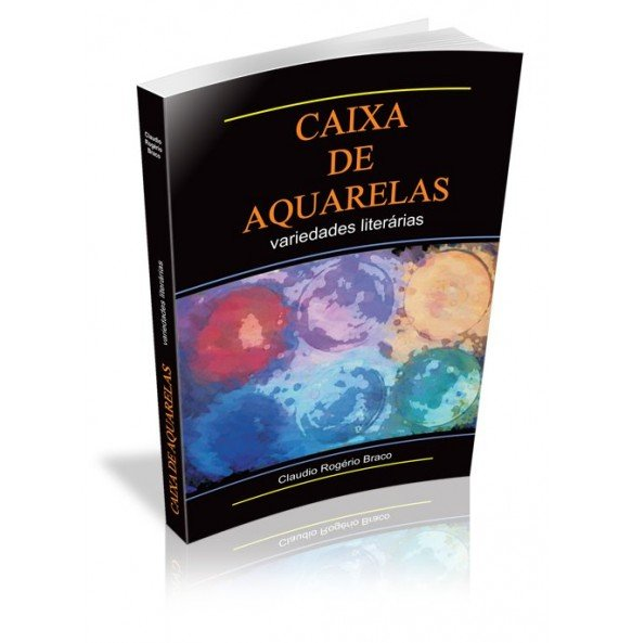 CAIXA DE AQUARELAS VARIEDADES LITERÁRIAS