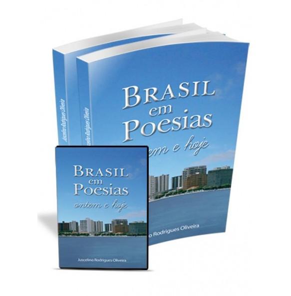 KIT2 2 unid. Brasil em Poesias: Ontem e hoje GRÁTIS DVD Jogando e Alfabetizando