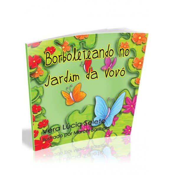 BORBOLETEANDO NO JARDIM DA VOVÓ